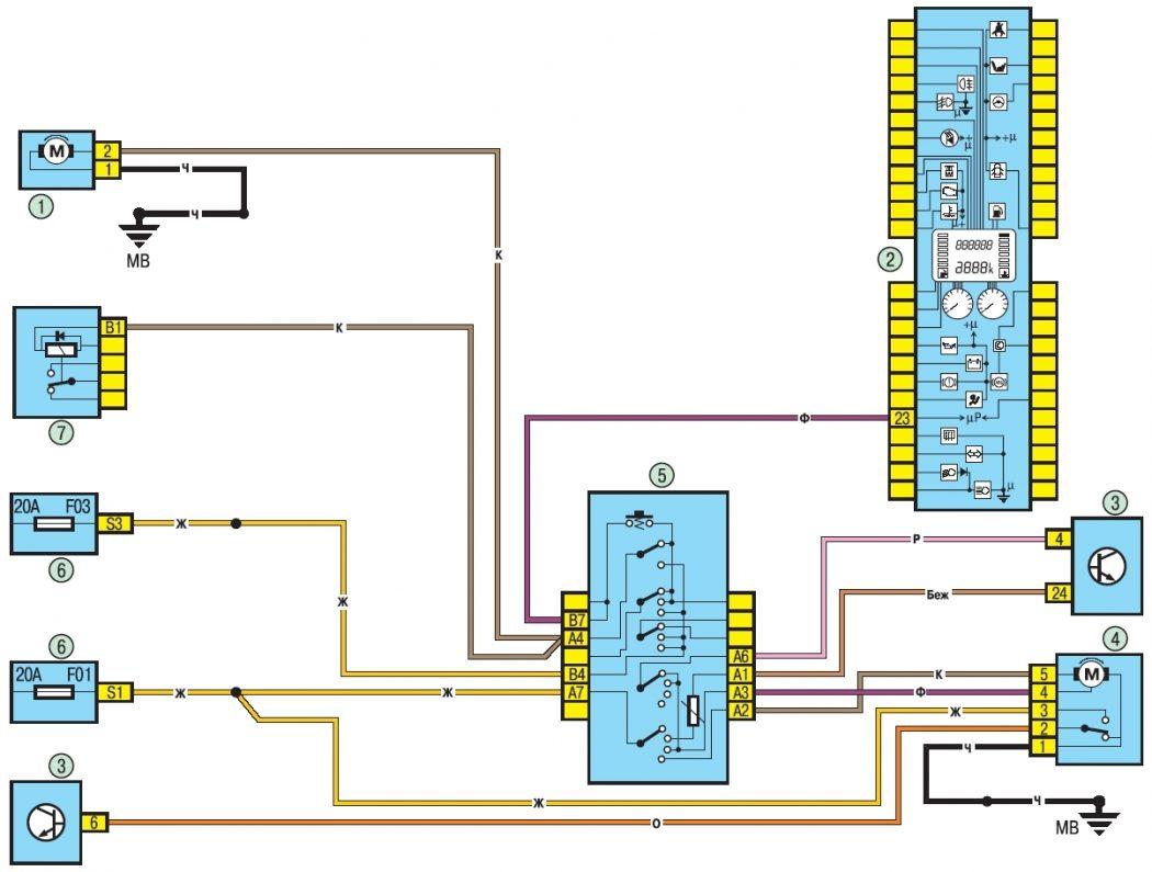 Схема электропроводки рено логан фото 338